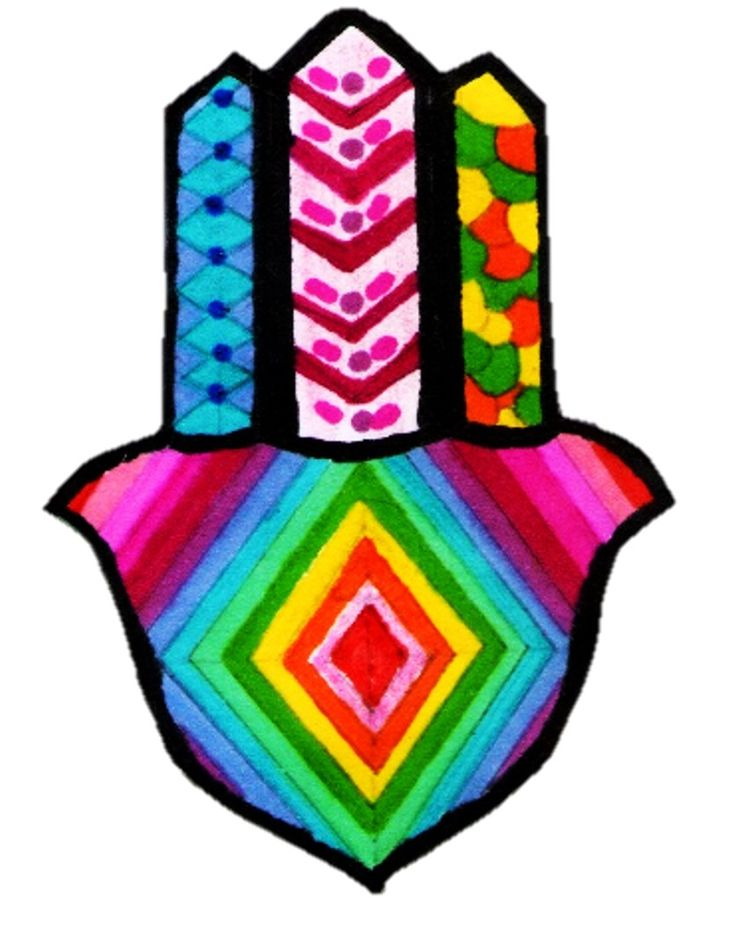 Hamsa + Tribal + Colores....