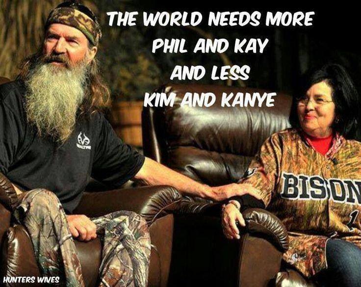 Phil & Kay #duckdynasty