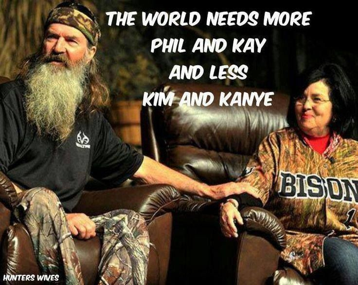 Phil & Kay #duckdynasty