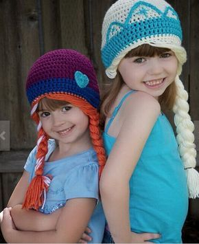 Please read the description of the item before you purchase!    This listing is for 1 Frozen inspired crochet hat only.    Your order will be