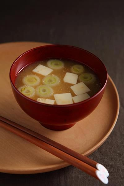 Misoshiru is a Japanese traditional soup. Which sometimes contains vegetables or fish. There is very common for Japanese meal. Japanese define this as a mother's cooking.