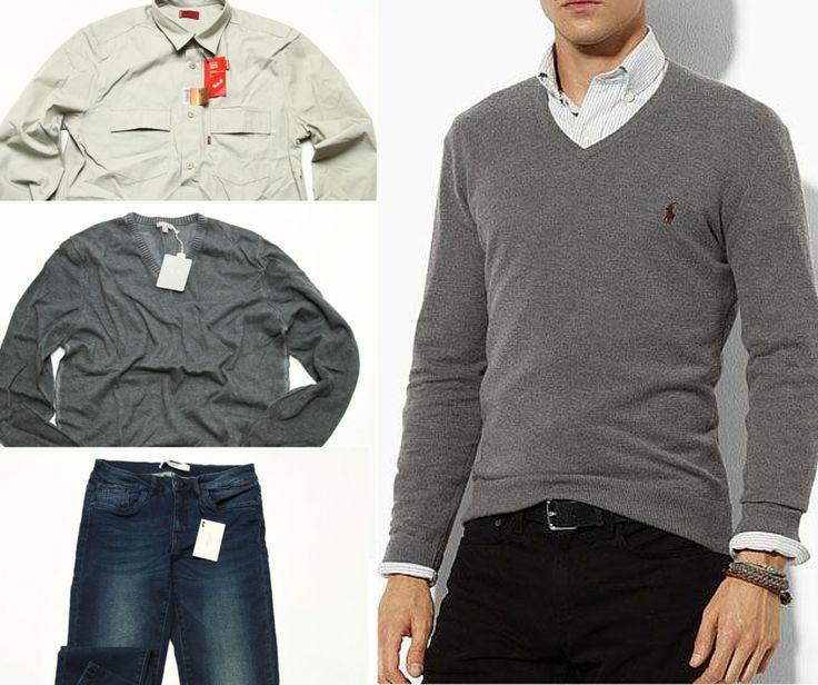 Outfit office de toamna pentru barbati #543 #haine #outlet