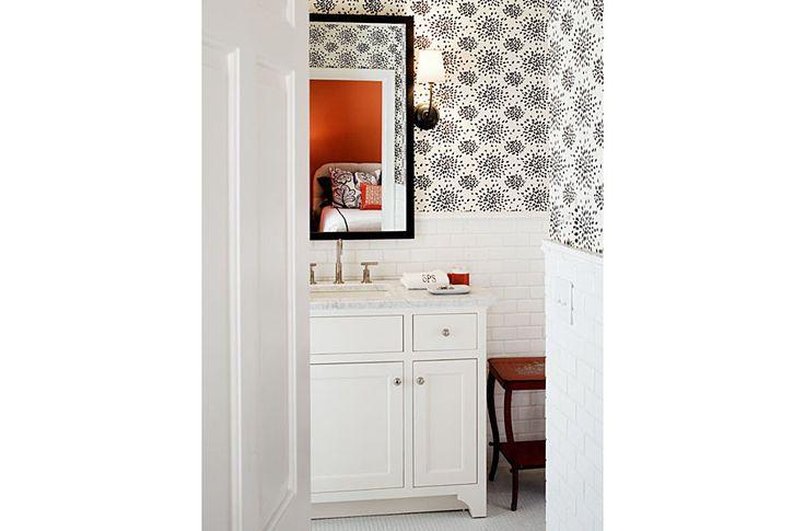 44 best nettleton powder room images on pinterest bathrooms bathroom and half bathrooms - Cannon bullock wallpaper ...