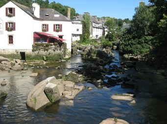 Pont-Aven, Finistere, Brittany