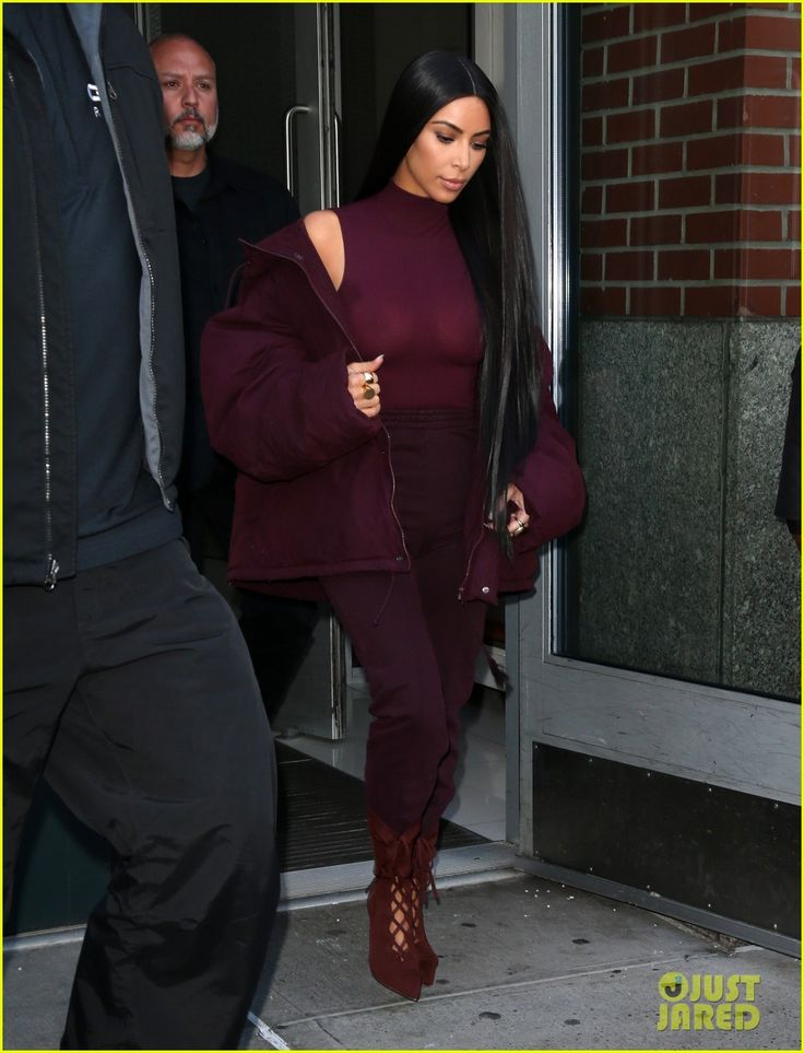Kim Kardashian, Kylie Jenner, & More Attend Kanye West's Yeezy Fashion Show in NYC