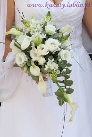Znalezione obrazy dla zapytania kwiaty ślubne białe