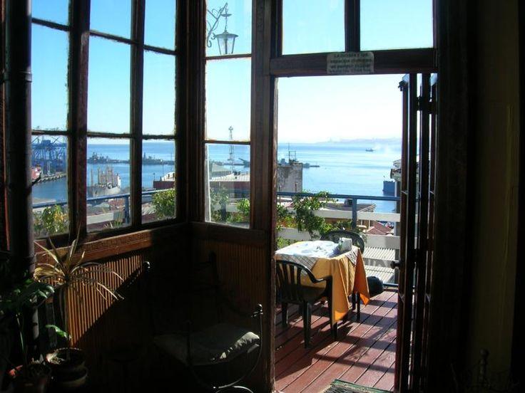 Alojamiento en Valparaiso con vista al Mar, Hostales