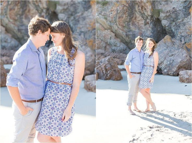 Beach engagement session | Cape Town, South Africa. Alexandra Graham Photography
