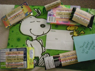 """5$ dollar tree birthday gift <3  Found a whoopie cushion and wrote """"you're funny""""; Pop rocks candy """"you rock""""; Nerds candy """"you are the best nerd""""; glowsticks """"you are bright""""; party necklace """"you are the life of the party""""; Lifesavers sour gummies """"You may be sour but on the inside I know you're still sweet! you are a lifesaver""""."""