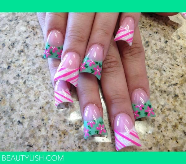 Why do girls find these nails attractive? I guess your duck bill nails will match your duck lips.