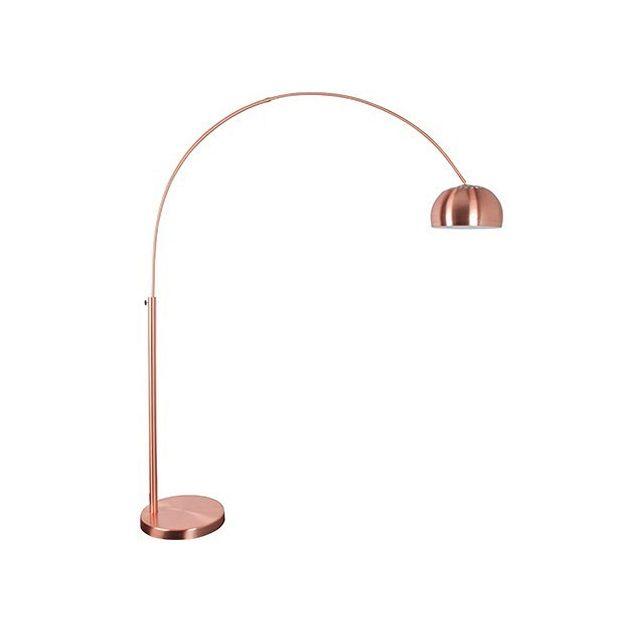 Zuiver Metal Bow Copper Vloerlamp 205 cm - Koper