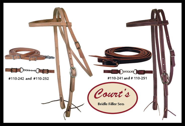 Courtssaddlery on western tack bridle 10 things