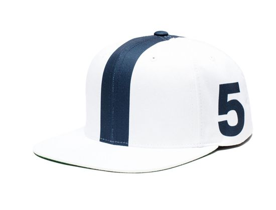 Linemen White Snapback Cap by UNDEFEATED