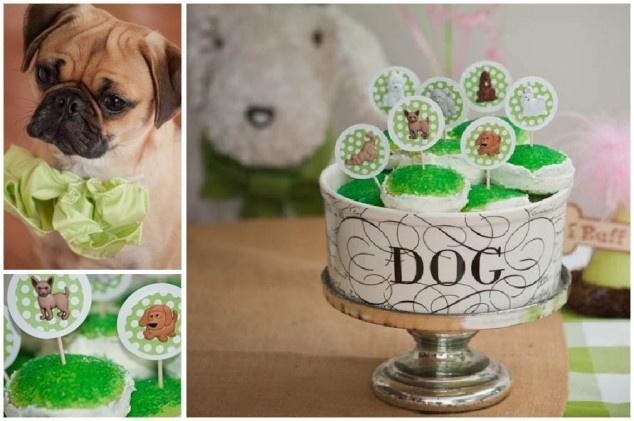 Adorable dog theme party | Pizzazzerie