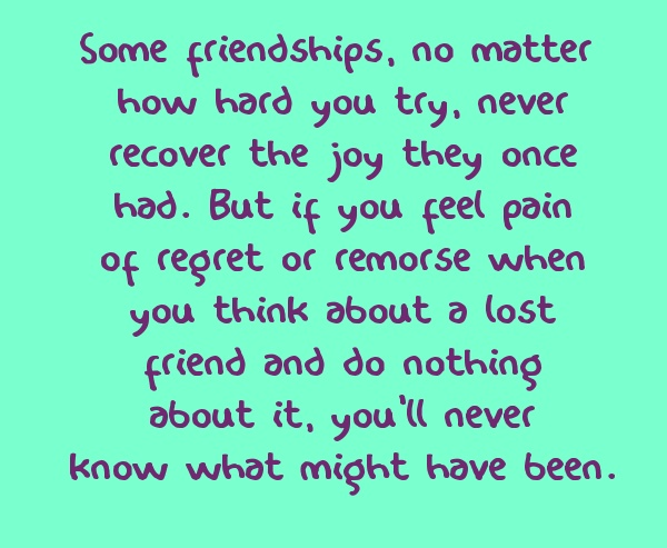 pain of losing a friend quotes - photo #12