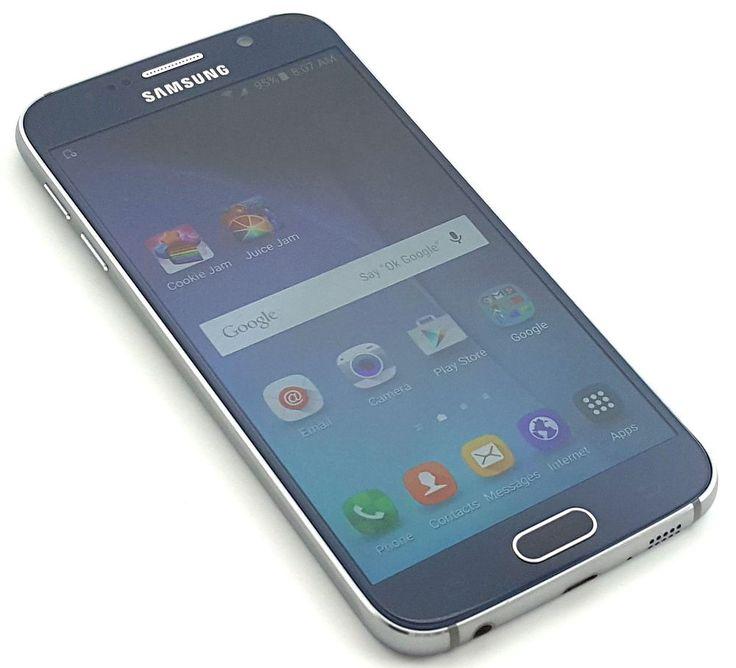 US Cellular Samsung Galaxy S6 Black 64GB Clean ESN Smartphone Phone #9732 #Samsung #Smartphone