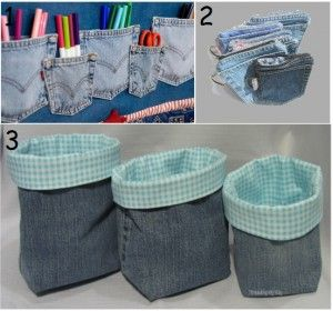 9 Creative Things To Do With Old Jeans | So Creative Things | Creative Stuffs