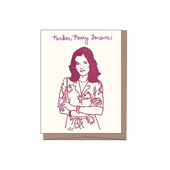 Parker Posey Forever ~ Card