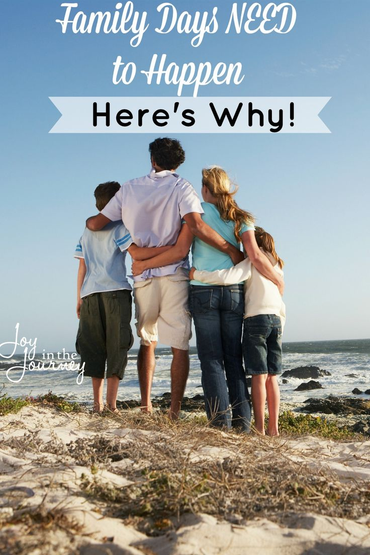 I want days where life stops, and family happens. I am sure you do too! This is why family days need to happen. Not next month, but NOW!