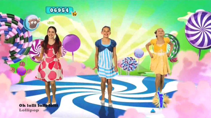 Just Dance Kids 2 Lollipop, via YouTube.