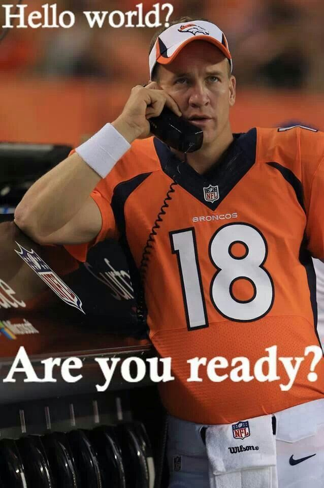 Let's go, BRONCOS! SUPER BOWL BOUND!