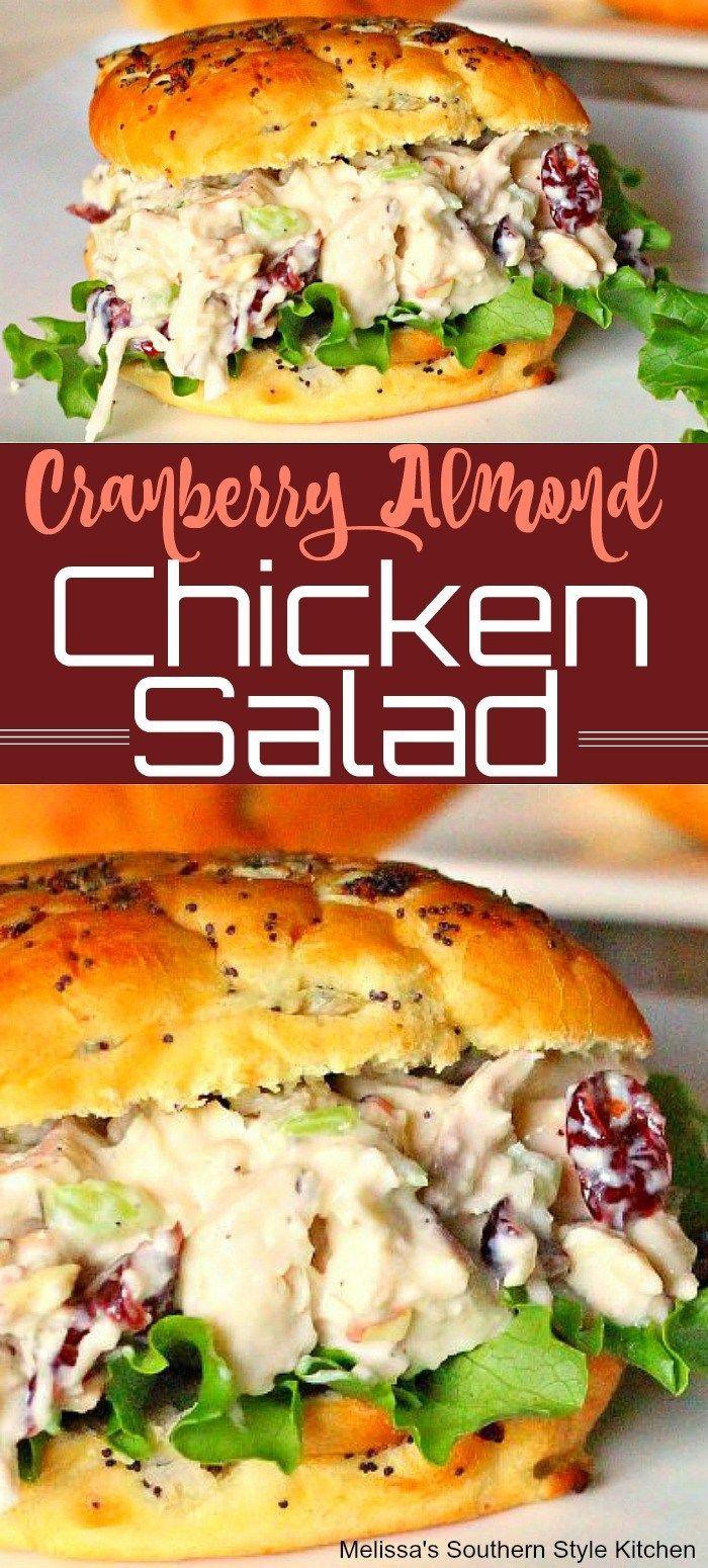Mar 17, 2020 – Cranberry Almond Chicken Salad, #Almond #Chicken #chickensaladrecipe #Cranberry #Salad