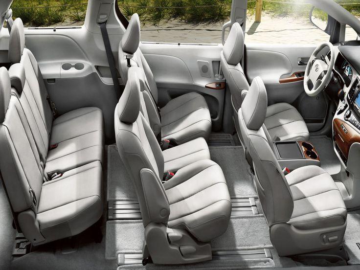 Toyota Sienna Seating Capacity Check more at https