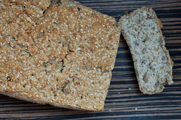 Lavkarbobrød uten egg, melk, gluten og sukker