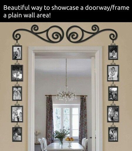 This is a great way to showcase family photos  !!! ♡♡♡