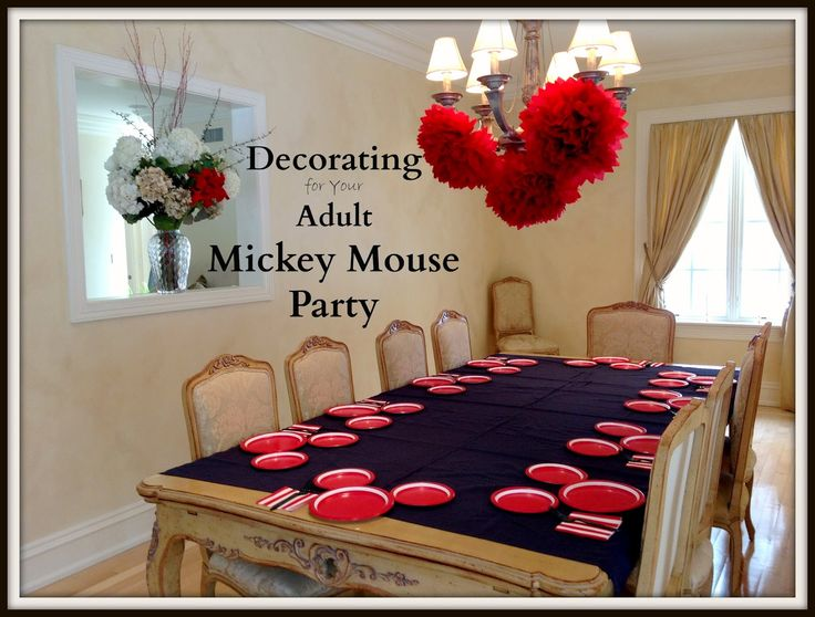 Mickey Mouse Multi-Generational Disney Side @Home