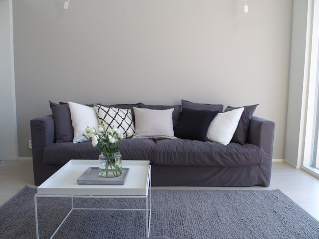 Uuden kodin olohuone  /Le grand air sofa