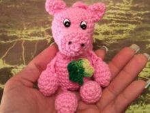 Häkelanleitung.pdf Key ring Pig