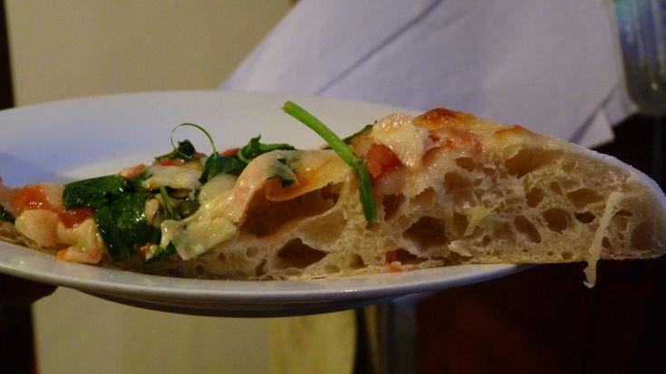 Pizza in teglia con caputo blu o Buratto Mulino Marino