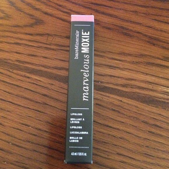 Bare Minerals lipgloss Marvelous Moxie lipgloss. Brand new. 4.5ml size. Rebel color. bareMinerals Makeup Lip Balm & Gloss
