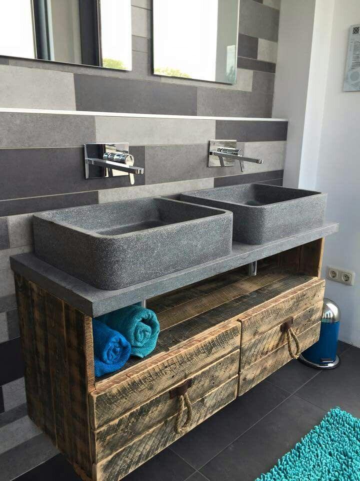 Badkamerkast voor onder wastafel badkamer ontwerp idee n voor uw huis samen met - Exotisch onder wastafel houten meubilair ...