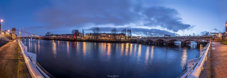 Glasgow river clyde at night! www.thomas-photographer.com