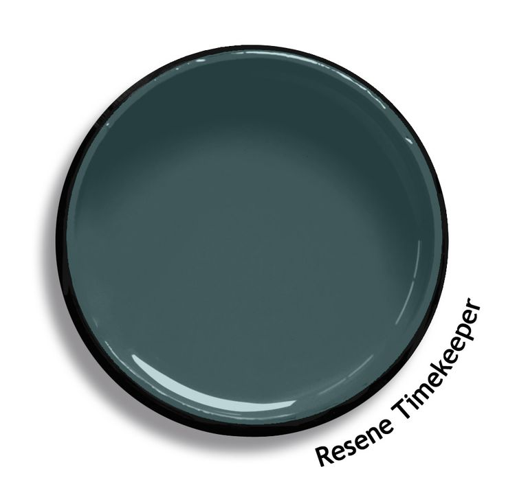 Resene Timekeeper is a complex blend of blue and green, distinguished by depth and conservative in ambiance. Try Resene Timekeeper with taupe browns, sweet whiskey neutrals and pale grey blues, such as Resene Coffee Break, Resene Nougat and Resene Dusted Blue. From the Resene The Range fashion colours. Latest trends available from www.resene.com. Try a Resene testpot or view a physical sample at your Resene ColorShop or Reseller before making your final colour choice.