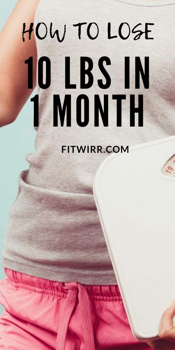 Diät, um 10 Pfund in einem Monat zu verlieren