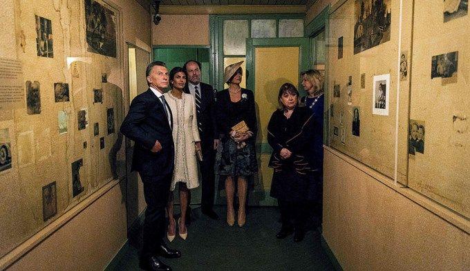 Macri visitó la casa de Ana Frank en compañía de la Reina Máxima de Holanda