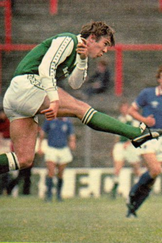 Football-Photo-GORDON-RAE-Hibernian-1970s