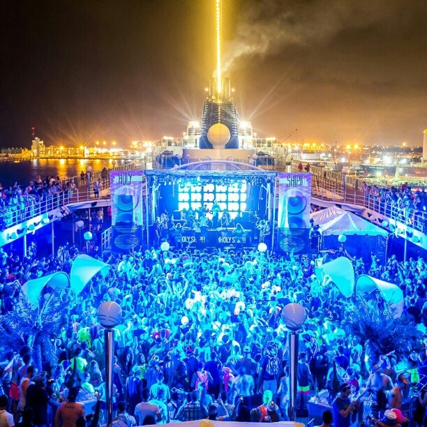 Holy Ship .. EDM Cruise from heaven