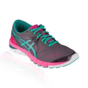 Asics - Gel Excel 33 3 Running Shoe - Charcoal/Emerald/Hot Pink