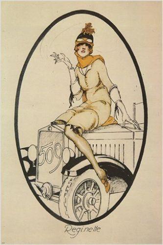 CODOGNATO 1925 vintage ad poster RIVISTA FIAT model 509 COLLECTORS 24X36 hot