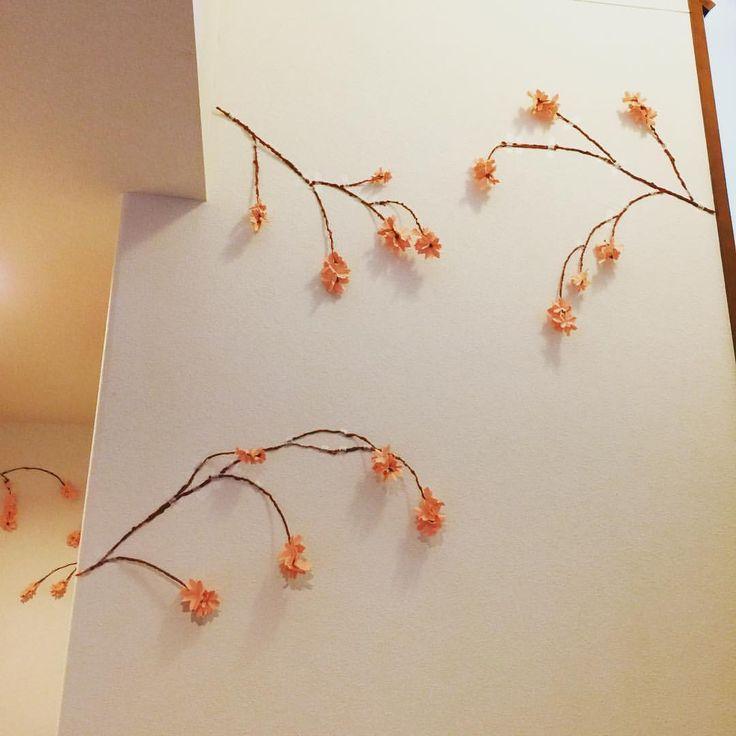お部屋でお花見🌸