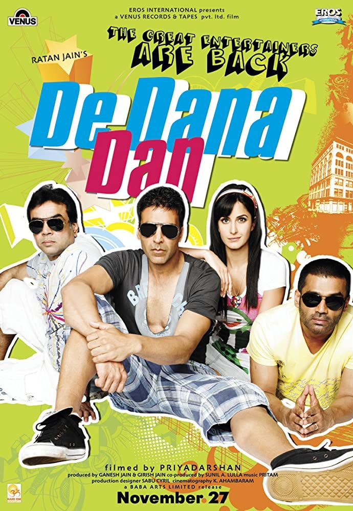 De Dana Dan 2009 Hindi Movies Free Movies Online Full Movies