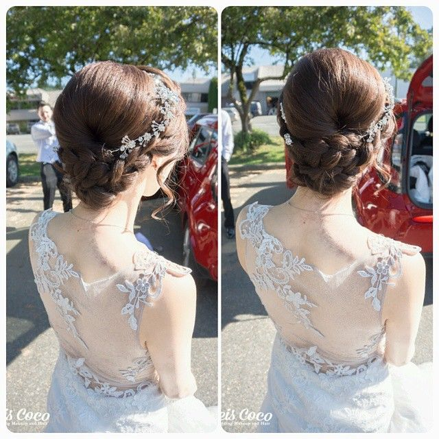 wedding hair style for bride best 25 korean wedding hair ideas on wedding 2660 | 3d2660c63455ed92eaea3a9e3bba71a0 bridal hairstyles hairdos