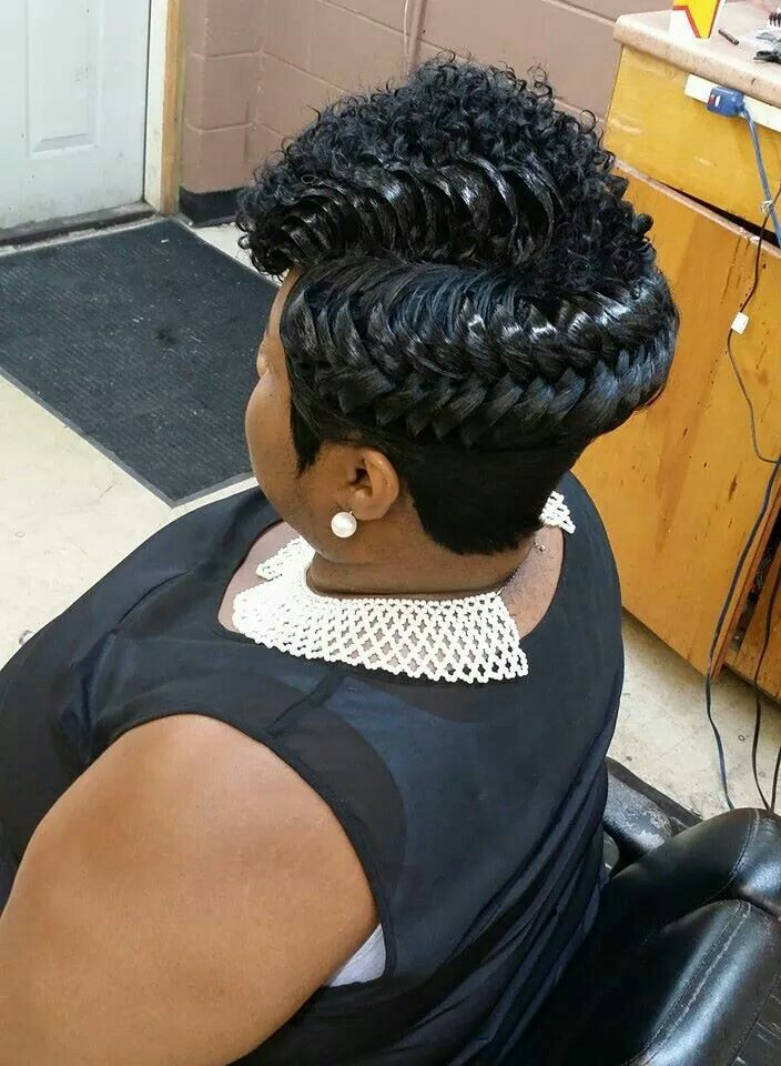 Pleasant 1000 Images About Pretty Hairstyles On Pinterest Protective Short Hairstyles Gunalazisus