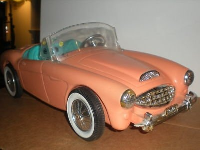 Barbie Doll Car - a blast from my past - the coolest Barbie car ever! Wish I still had it!