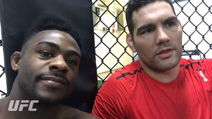 "The boys from Long Island Aljamain ""Funk Master"" Sterling and Chris Weidman make predictions for the co-main and main event at #UFC207!! ⬇️"