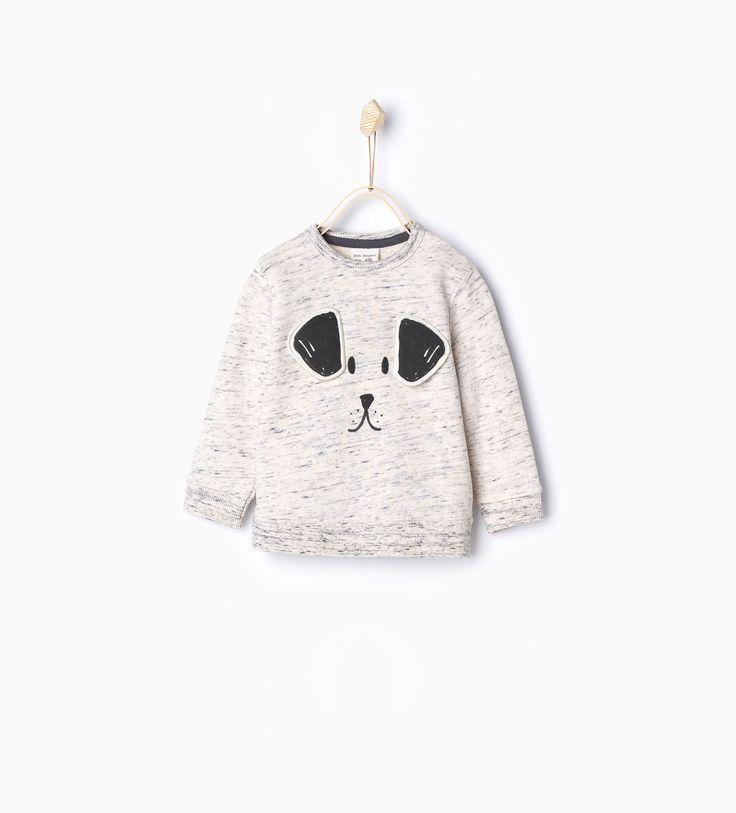 Dog sweatshirt - Sweatshirts - Baby boy | 3 months - 4 years - KIDS | ZARA United Kingdom
